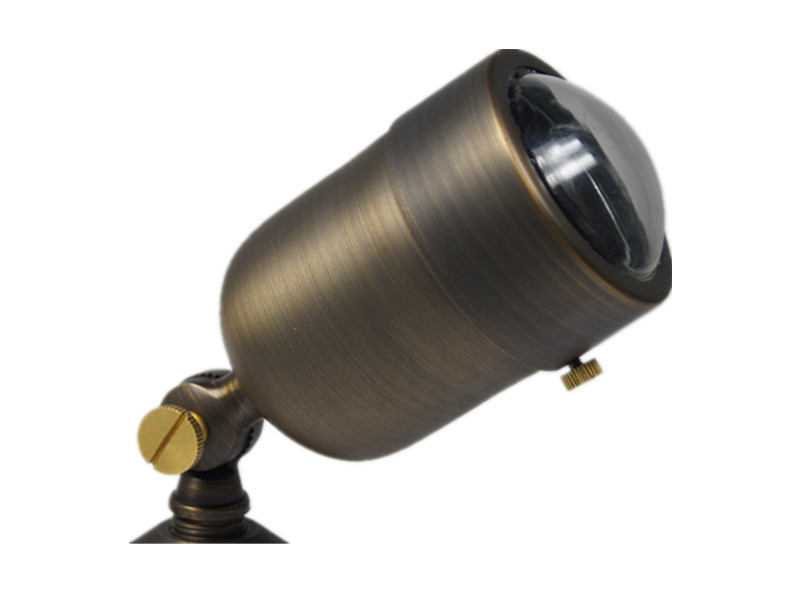 B310 brass landscape lighting