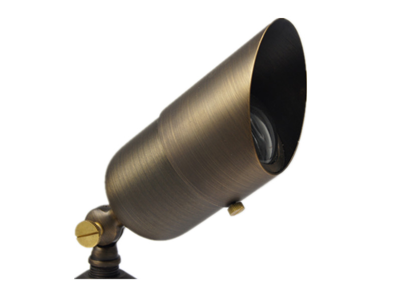 B311 brass landscape lighting