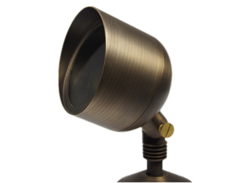 B353 brass landscape lighting